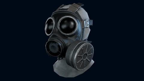Lowpoly Gasmask