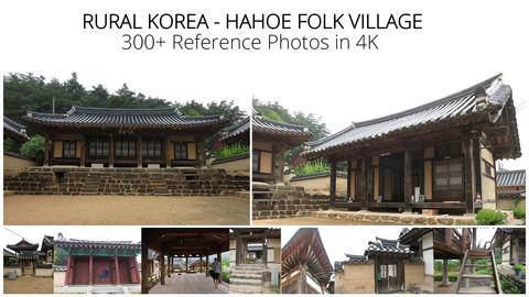 Rural Korea:  Hahoe Folk Village -  300+ Reference Photos in 4K