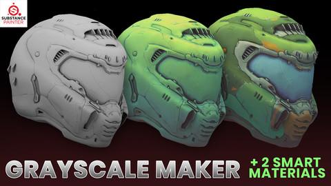 Grayscale Maker + 2 Smart Materials