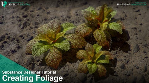 Creating Foliage in Substance Designer | Bogodar Havrylyuk