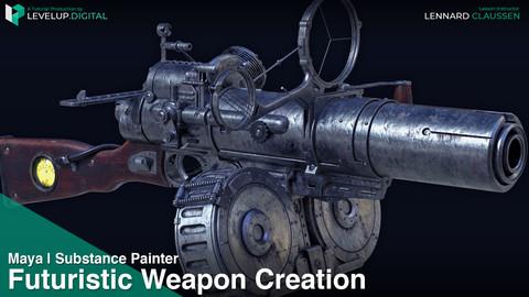 Futuristic Weapon Creation | Lennard Claussen