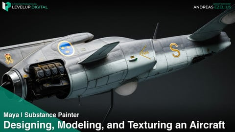Designing, Modeling, and Texturing an Aircraft | Andreas Ezelius