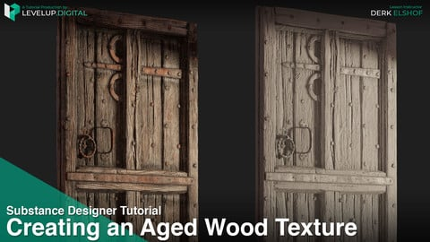 Creating an Aged Wood Texture in Substance Designer | Derk Elshof