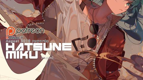 HATSUNE MIKU - Vocaloid rewards