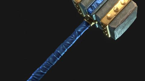 Stylized War Hammer