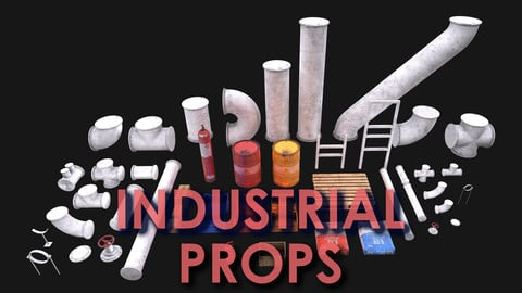Industrial Props Pack