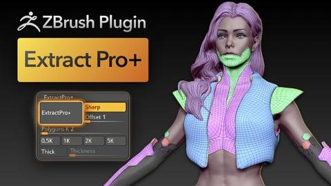 ZBrush Plugin Extract PRO+