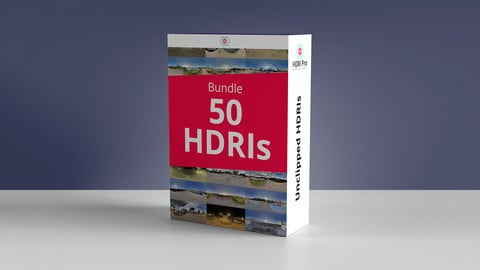 50 HDRIs Bundle - Pack