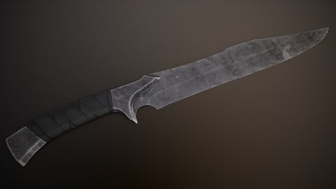 Post-Apocalyptic Bowie Knife
