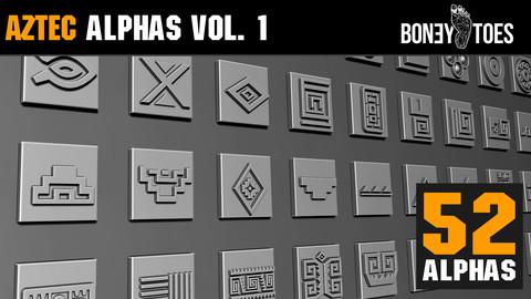 Aztec Alphas Volume 1