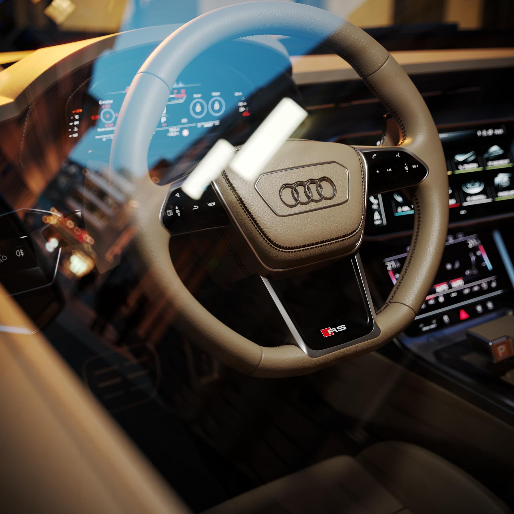 Artstation Audi Rs7 Sportback 2020 3d Model Resources