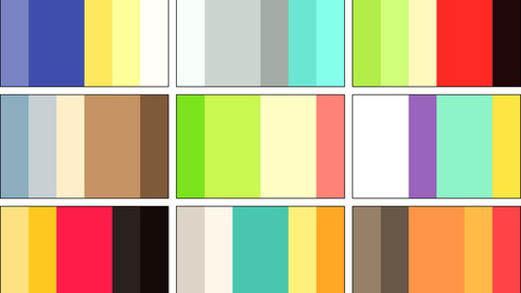 Color Palette 5 for Clip Studio Paint and Ex