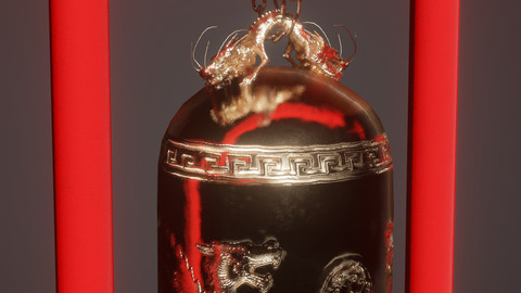 Chinese Bell - Ready for Unity
