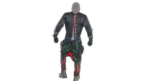 Crotch Spandex Sweatpants