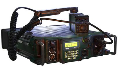 Military Radio model