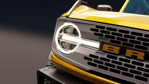 2021 Ford Bronco 2-door Badlands 3D model