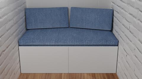 Sofa for the loggia