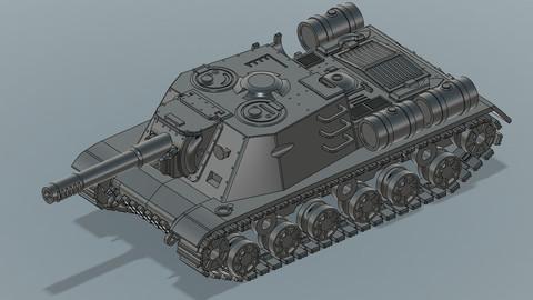 ISU-152 - 3D Print Ready