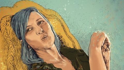 Portrait of a woman called Julie