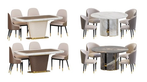 Dining Table & Chair-Vol-1