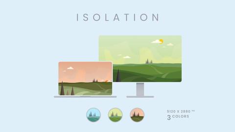 Isolation - 5K Wallpaper Pack
