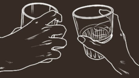 Hand with Glass Cheat Brushes Pack