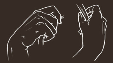 Hand Holding a Strap - Cheat Brushes Pack