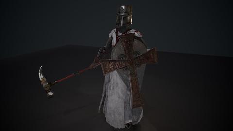 woman crusader