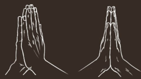 Hands in Prayer Cheat Brushes Pack