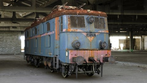 Old train asset