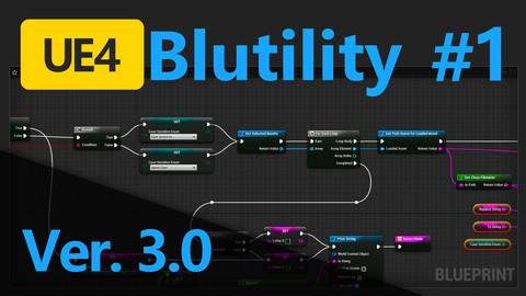 UE4 Editor Utility Blueprint for renaming multiple files