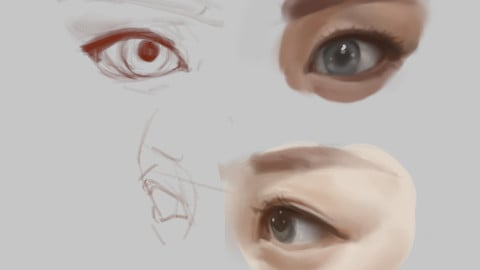 Eyes PSD file