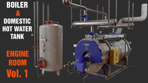 Boiler & Domestic hot water Tank