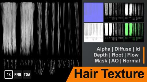 Hair Textures 4K