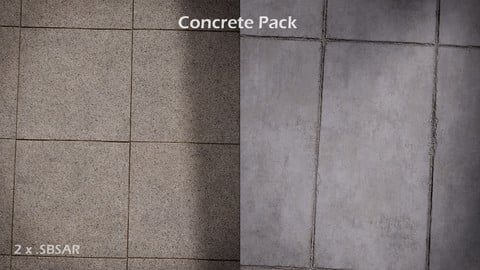 2 x Concrete SBSAR Pack