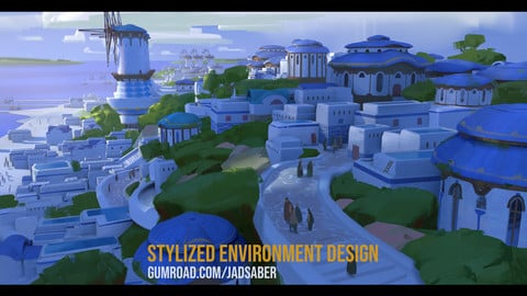 Stylized Environment Design