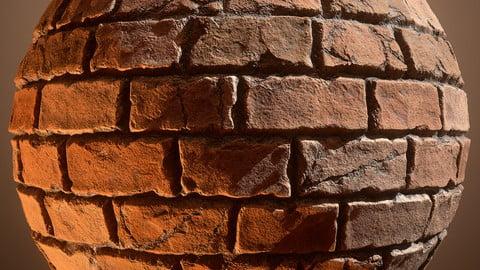 Brick Wall Material 001