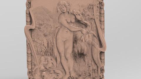 Nude girl relief - 13