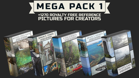 Mega Pack 1 - Royalty Free Reference Pictures