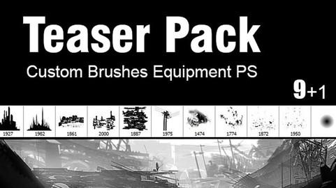 Teaser Pack - Custom Brushes for Photoshop