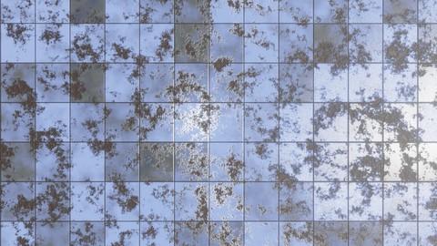 Procedural damaged apocalyptic tiles for blender
