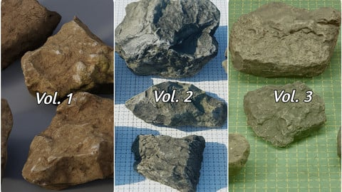 Rock Pack Vol. 1-3