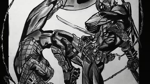 DEADPOOL VS SPIDERMAN