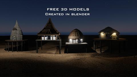 Free 3D Buildings