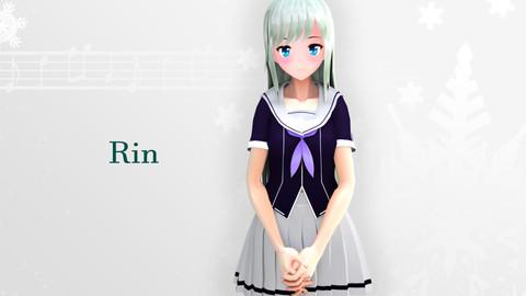 Rin Original - VRChat/Game Ready