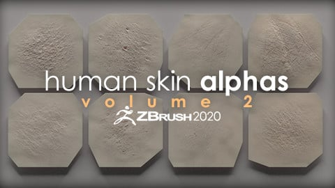 Human Skin Alphas vol. 2 + Render Scene