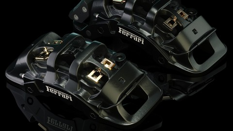 Brembo brake calipers [High detailed]