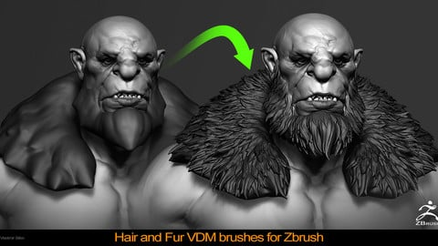 Hair and Fur VDM Brushes