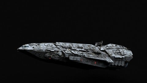 Galactic Empire Spearhead-class Corvette