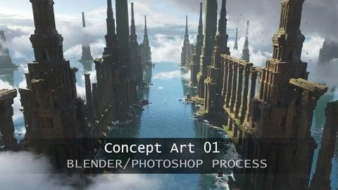 Lost Atlantide 3D/2D process